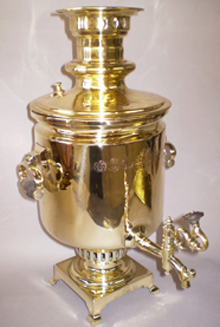 restored antique samovar